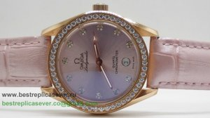 Omega Speedmaster Female Quartz Diamond Bezel OAW30