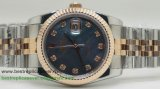 Rolex Date Just Automatic S/S 36MM Sapphire RXG187
