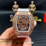 RMGR Richard Mille RM052 Automatic Skull Diamonds RMGR87