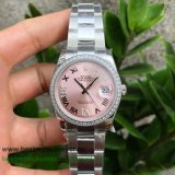 RXGR Rolex Datejust Suisse ETA 2836 Automatic S/S 36MM Sapphire Diamonds RXGR43