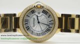 Cartier Ballon bleu de Cartier Quartz Diamonds Bezel CRG143