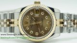 Rolex Date Just Automatic S/S Sapphire RXW38