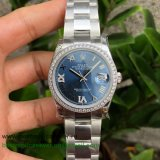 RXGR Rolex Datejust Suisse ETA 2836 Automatic S/S 36MM Sapphire Diamonds RXGR42