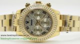 Rolex Daytona Automatic S/S Diamonds Bezel RXW28