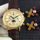 Replica Patek Philippe Working Chronograph Moonphase PPGR60