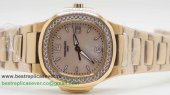 Patek Philippe Quartz Diamonds Bezel S/S PPW7