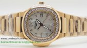 Patek Philippe Quartz Diamonds Bezel S/S PPW8