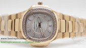 Patek Philippe Quartz Diamonds Bezel S/S PPW15