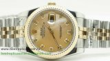 Rolex Date Just Automatic S/S 36MM Sapphire RXG266