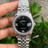 RXGR Rolex Datejust Suisse ETA 2836 Automatic S/S 36MM Sapphire Diamonds RXGR41