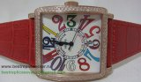 Franck Muller Master Square Diamonds Bezel Quartz FMG10