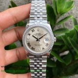 RXGR Rolex Datejust Suisse ETA 2836 Automatic S/S 36MM Sapphire Diamonds RXGR40