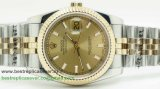 Rolex Date Just Automatic S/S 36MM Sapphire RXG265