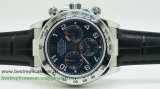 Rolex Daytona Asia Valjoux 7750 Automatic Working Chronograph Cuir RXGG175