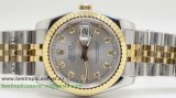 Rolex Date Just Automatic S/S 36MM Sapphire RXG180