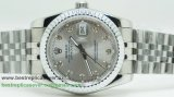 Rolex Date Just Automatic S/S 36MM Sapphire RXG182