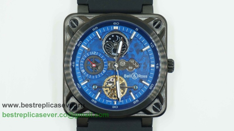 Bell & Ross BR02 Automatic Tourbillon Moonphase BRG45