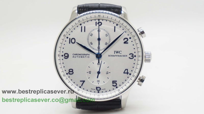 IWC Portuguese Working Chronograph ICG22