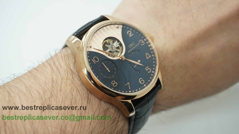 IWC Portuguese F.A Jones Tourbillon Working Power Reserve Automatic ICG59