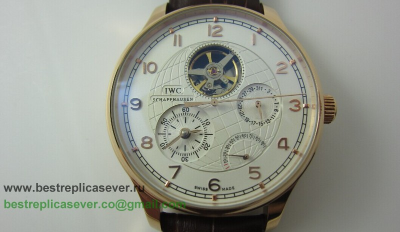 IWC Portuguese Automatic Tourbillon Working Power Reserve ICG101
