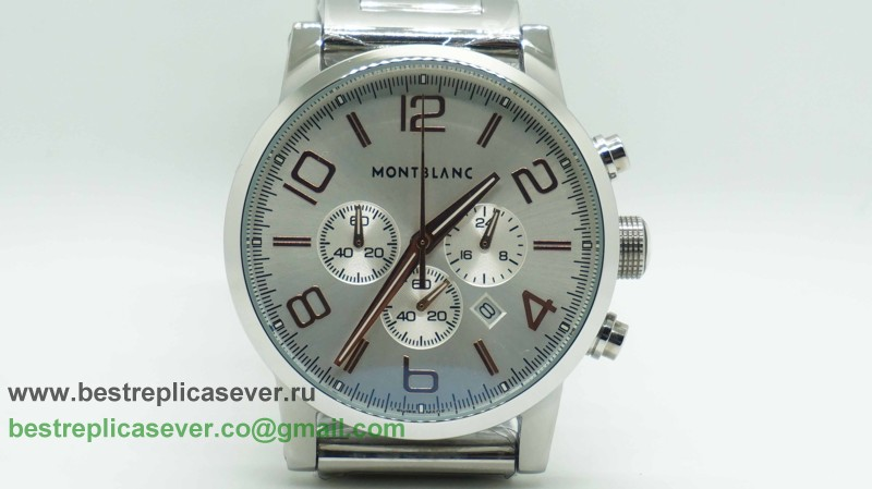 Montblanc Time Walker Working Chronograph S/S MCG48