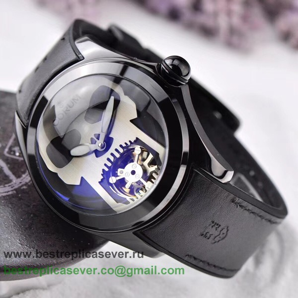 Replica Corum Bubble Automatic Tourbillon Skull CMGR01