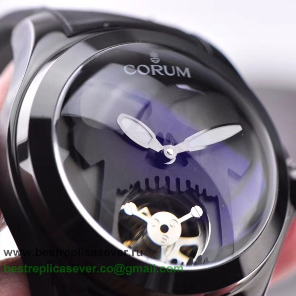 Replica Corum Bubble Automatic Tourbillon Skull CMGR02