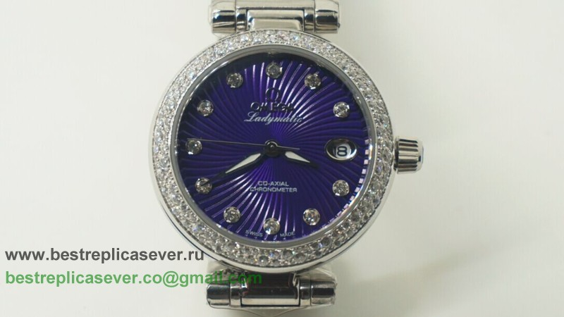 Omega Ladymatic Quartz Diamond Bezel OAW18