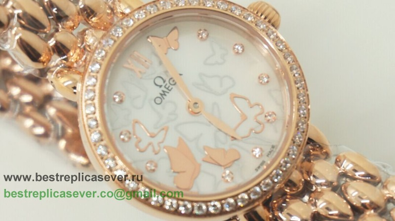 Omega Quartz Diamond Bezel OAW22