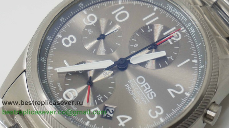 Oris Working Chronograph S/S OSG18