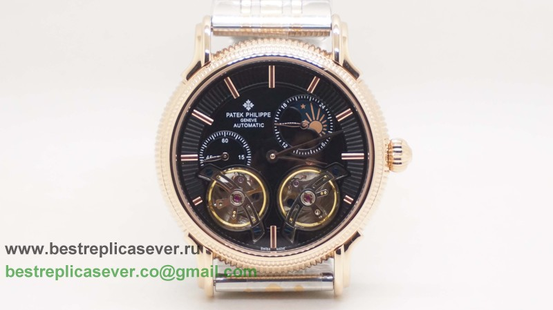 Patek Philippe Automatic Double Tourbillon Moonphase PPG140