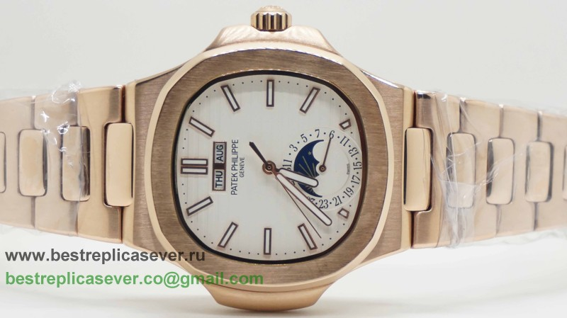 Patek Philippe Automatic Moonphase S/S PPG81