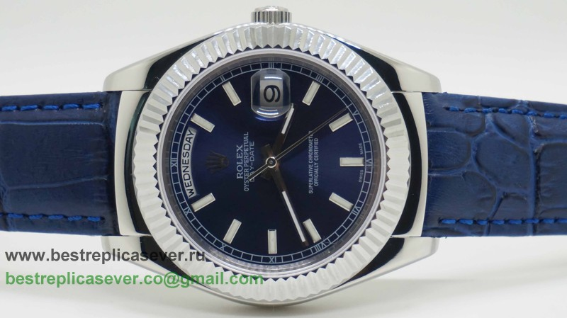 Rolex Day Date Automatic Cuir 41MM Sapphire RXG226