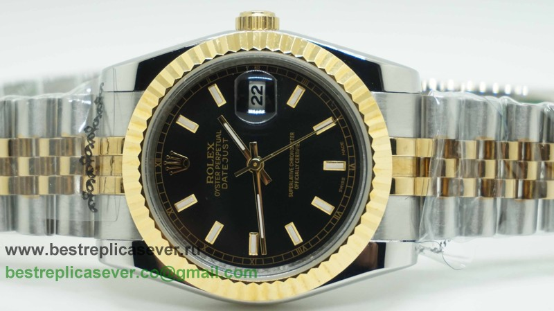 Rolex Date Just Automatic S/S 36MM Sapphire RXG239