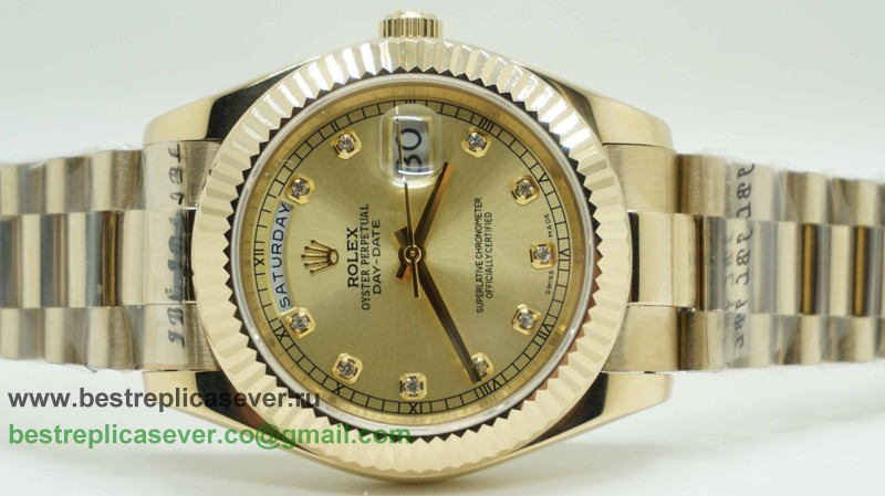 Rolex Day Date Automatic S/S 41MM Sapphire RXG244