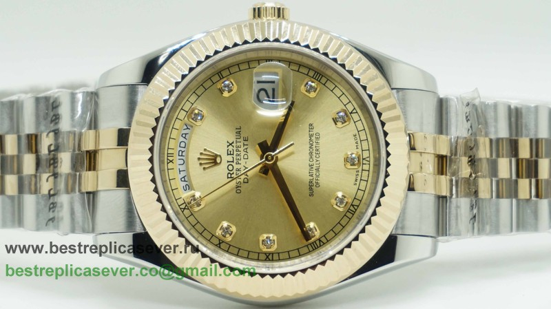 Rolex Day Date Automatic S/S 41MM Sapphire RXG245