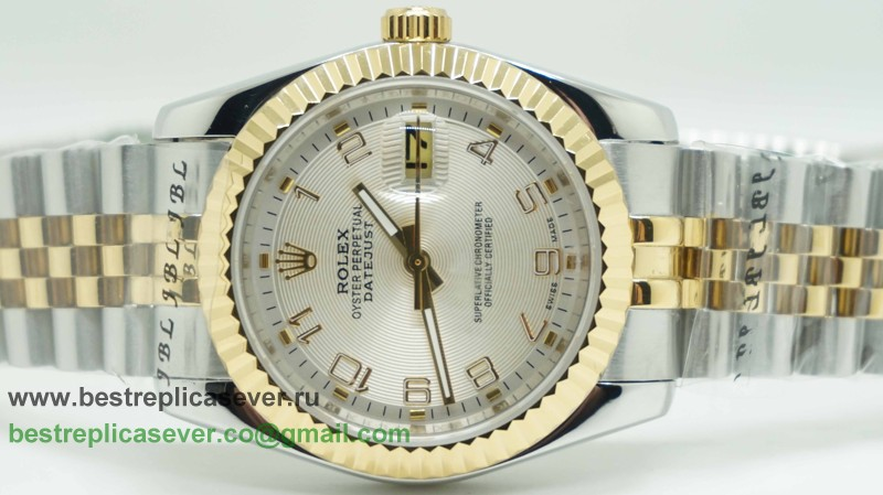 Rolex Date Just Automatic S/S 36MM Sapphire RXG254