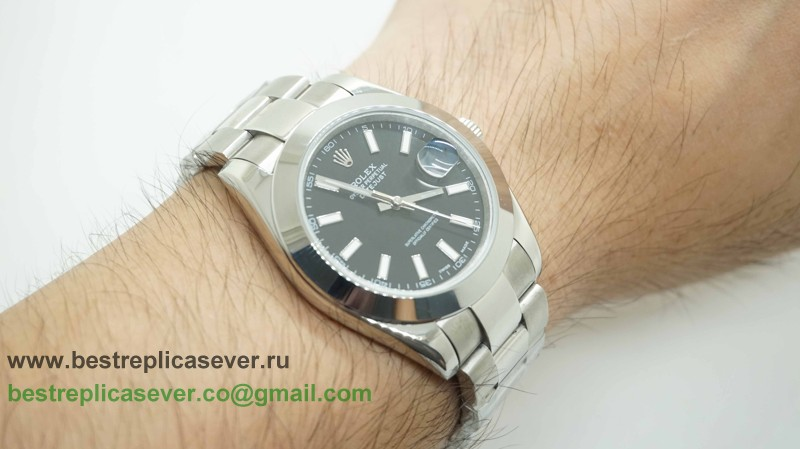 Rolex Date Just Automatic S/S 41MM Sapphire RXG275