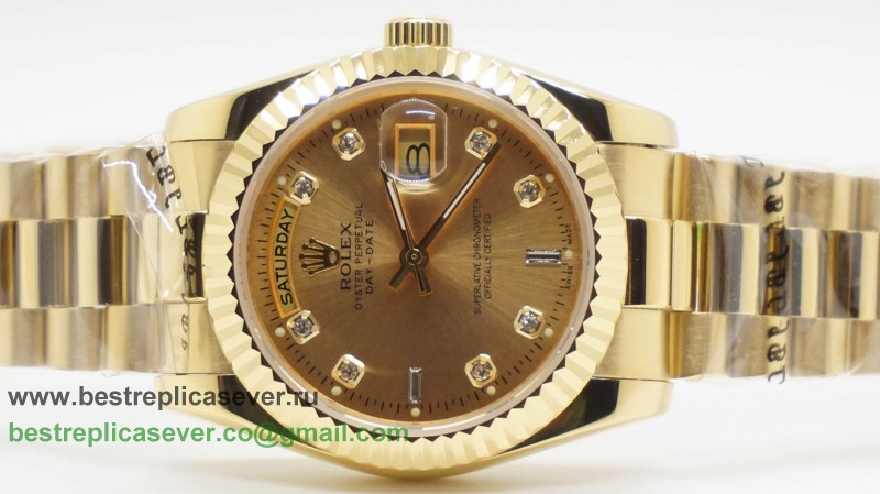 Rolex Day Date Automatic S/S 36MM Sapphire RXG306