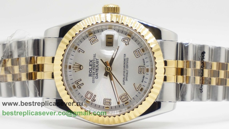 Rolex Date Just Automatic S/S 36MM Sapphire RXG308