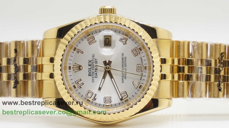 Rolex Date Just Automatic S/S 36MM Sapphire RXG315