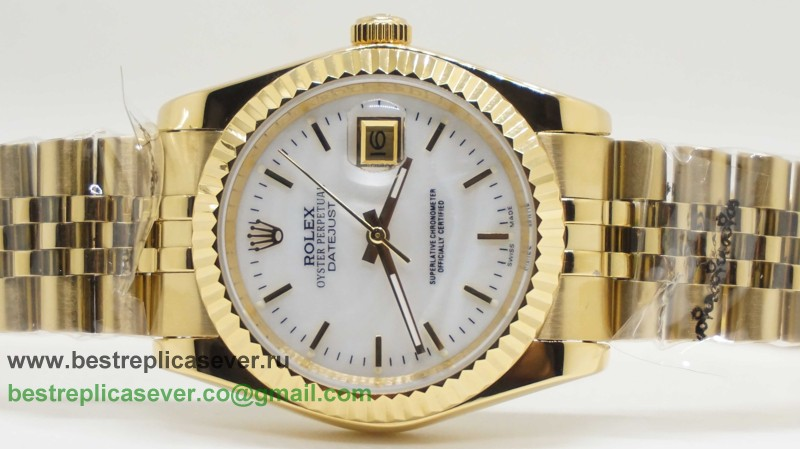 Rolex Date Just Automatic S/S 36MM Sapphire RXG316